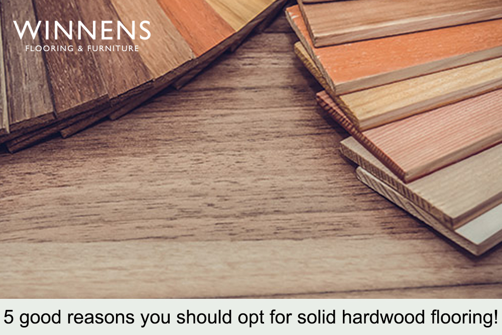 5 Good Reasons You Should Opt for solid hardwood Flooring!