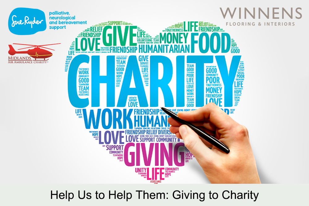 Help Us to Help Them: Giving to Charity