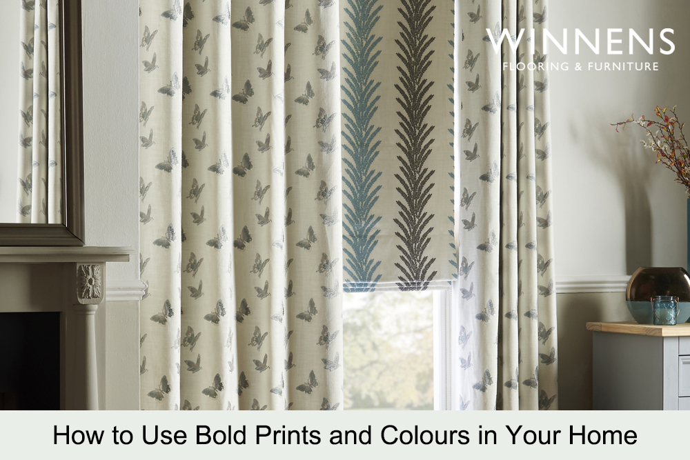 Winnens Blog November 2020 - Bold prints and colours in the home